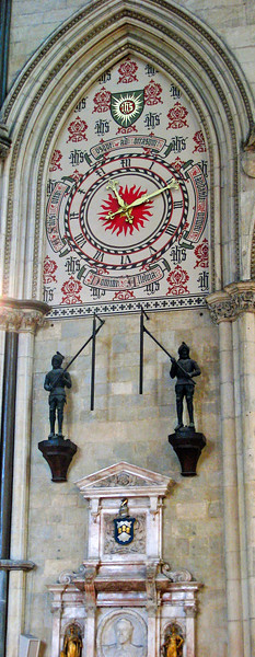 Yorkminster clock