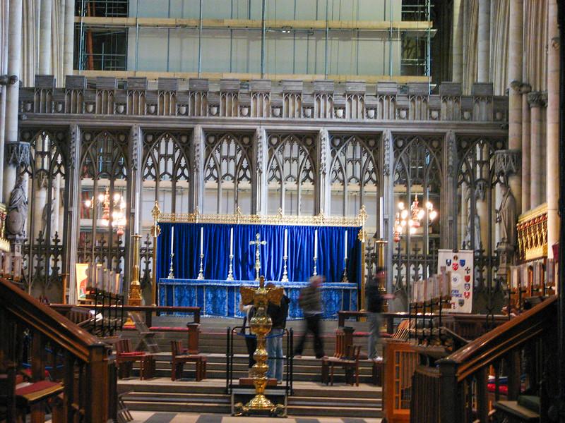 Yorkminster altar