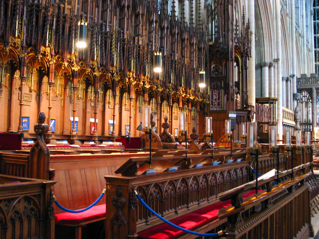 Yorkminster quire