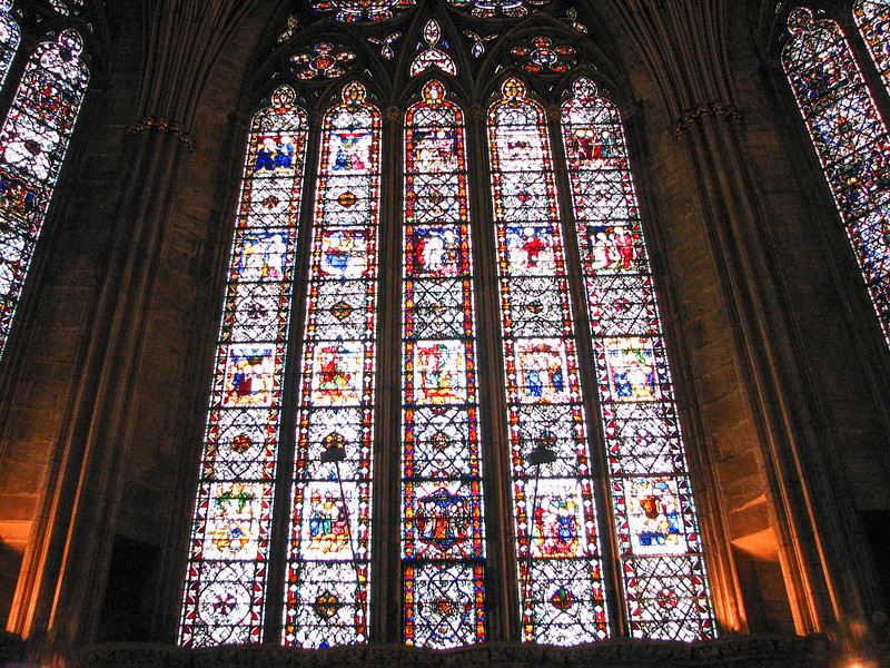 Yorkminster Chapter House windows