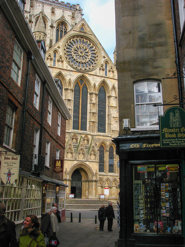 Yorkminster and shops