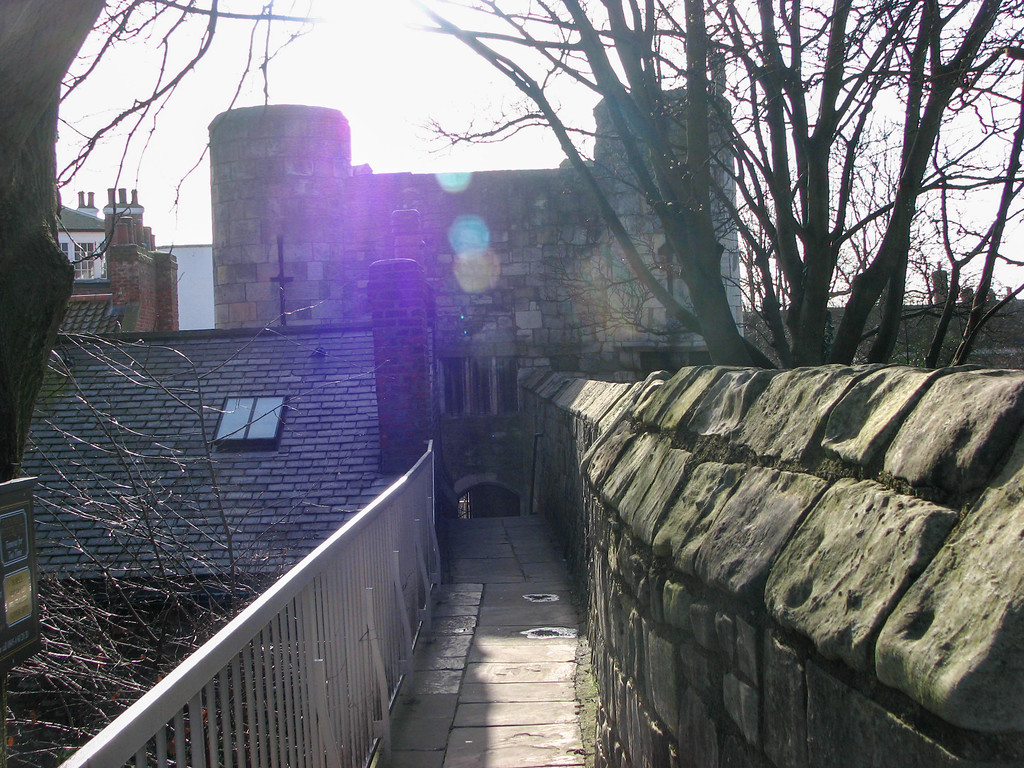 Walking the walls from Monk Bar to Bootham Bar