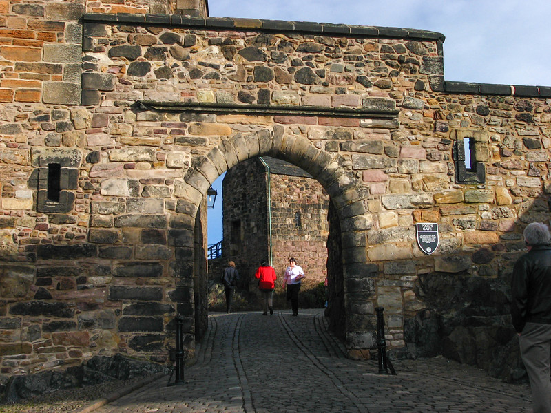 Foog's Gate in Edinburgh Castle