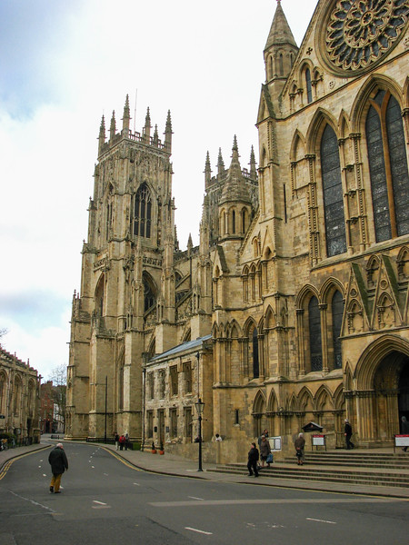 South exterior of Yorkminster