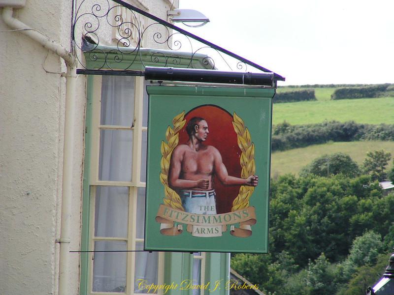 Pub Sign, Helston, Cornwall, England