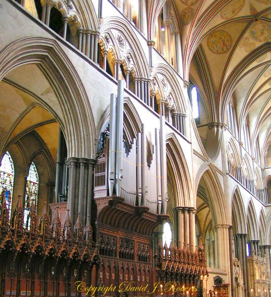 Salisbury Cathedral pipe organ
