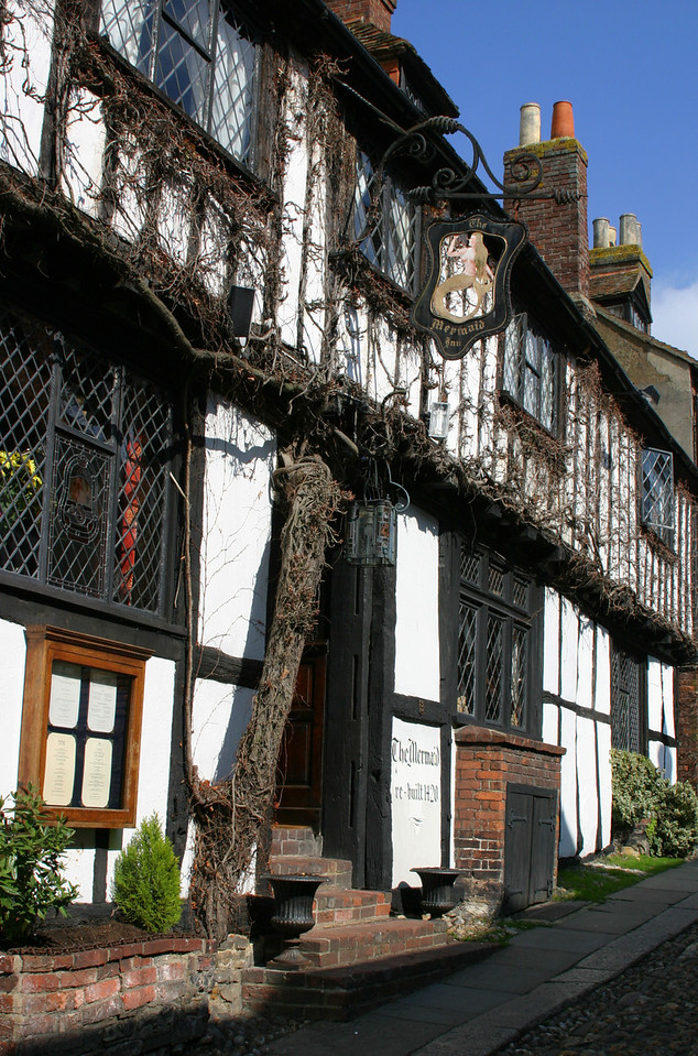 Memaid Inn, Rye, England, 2004