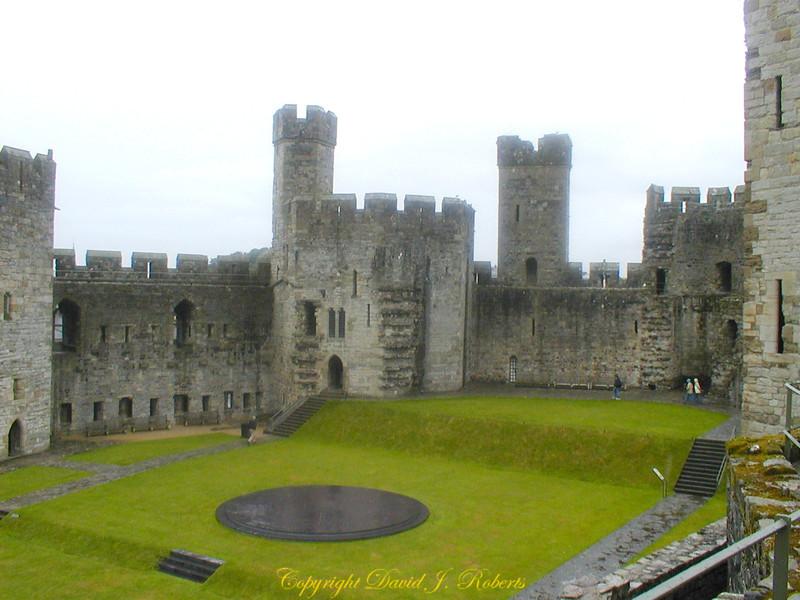 Carnarvon Castle, Wales