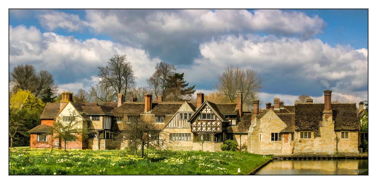 Heever Village, Heever Castle, England, 2004