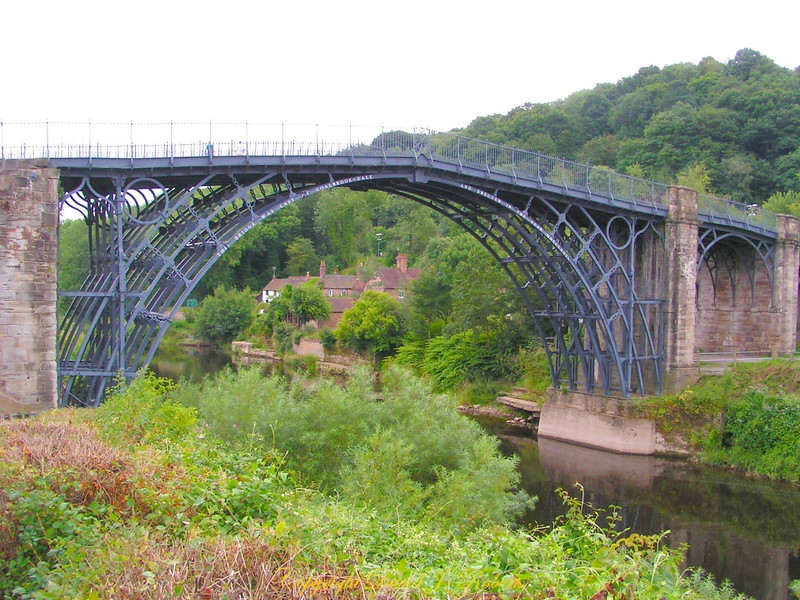 Iron Bridge and River Severn, Shropshire, England