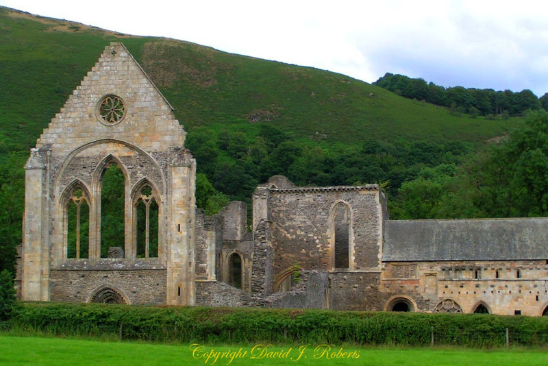 Church ruins in Wales