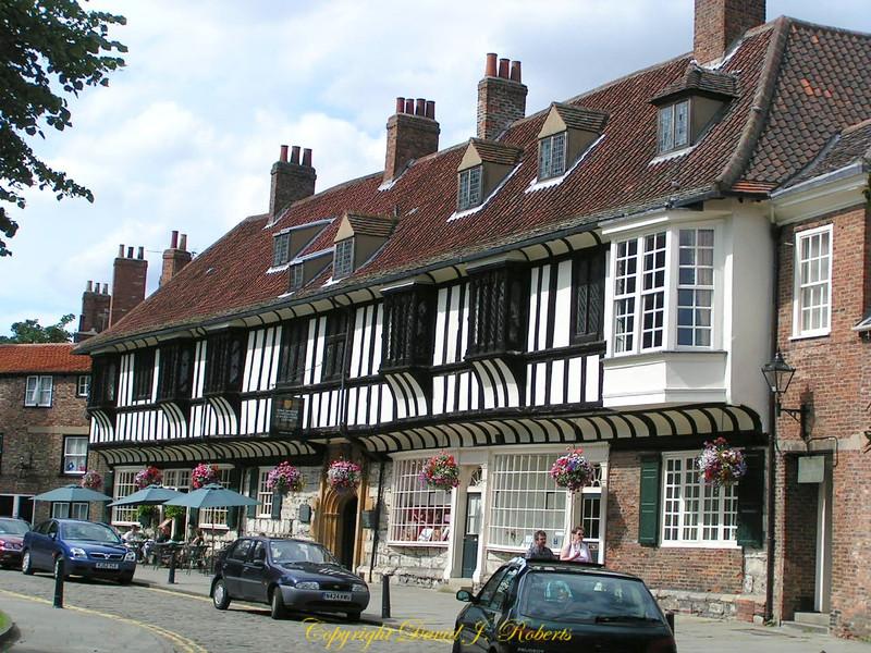 Public house in York, England