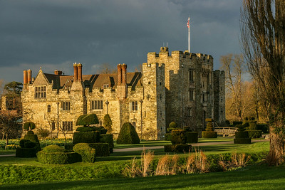 Afternoon Sun, Heever Castle, England, 2004