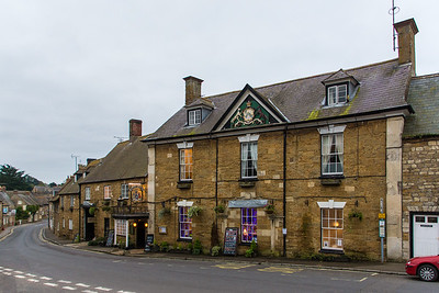 Our hotel, the Ilchester Arms Abbotsbury