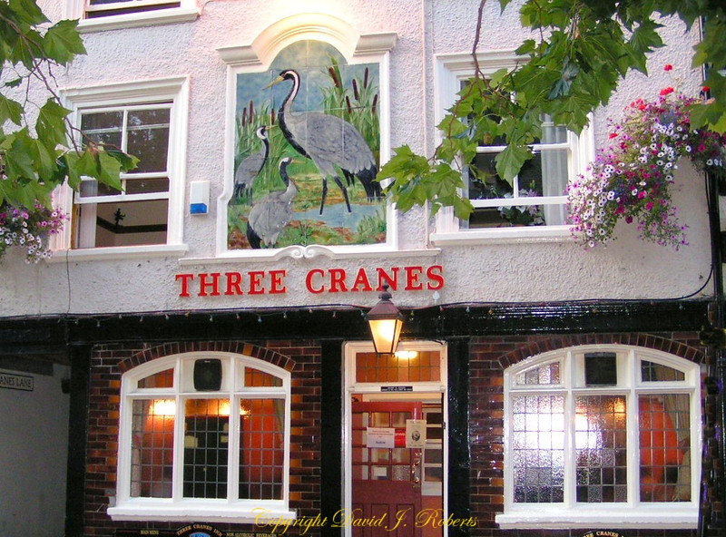 The Three Cranes Pub, York, England