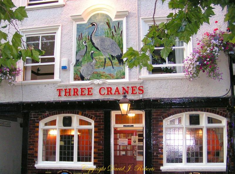 The Three Cranes Pub, York, England