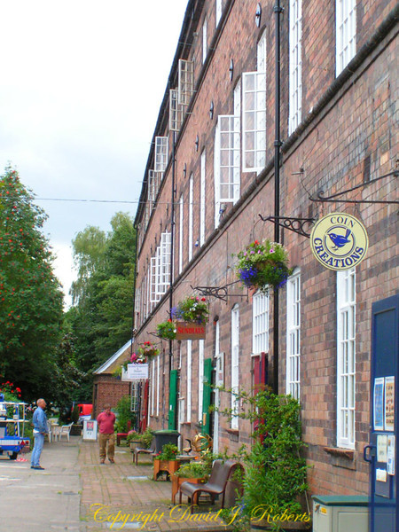 Historic factory building near Iron Bridge