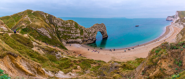 Durdle Door, Swyre Head and Bat's Head