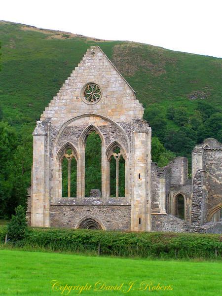 Church ruins in Wales