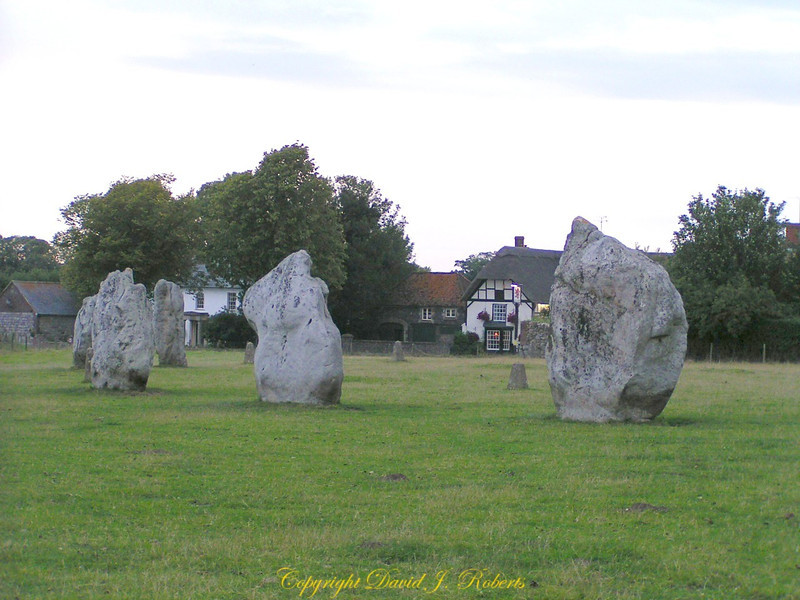 Stones of Avebury, Wiltshire, England. They encircle the village and are a wonderful site to see.