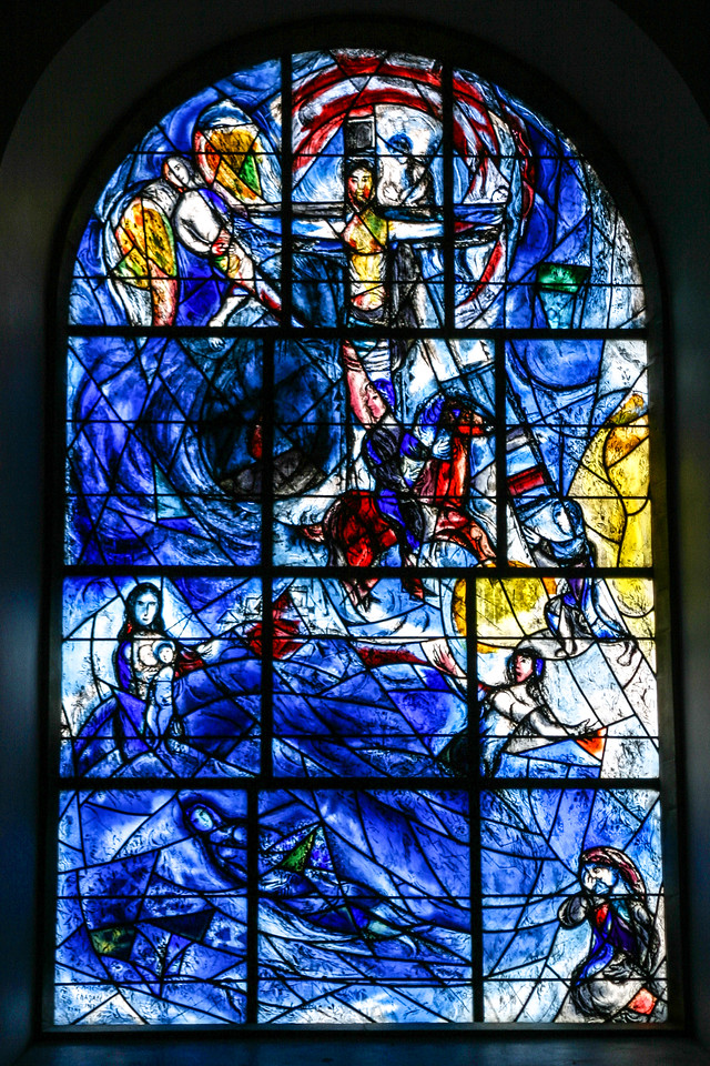 Chagal Window, Tudeley, England, 2004