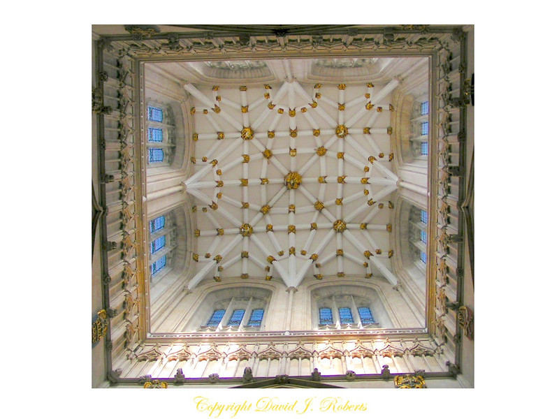 Cupola of York Minster, England