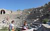 The smaller amphitheater at Ephesus.