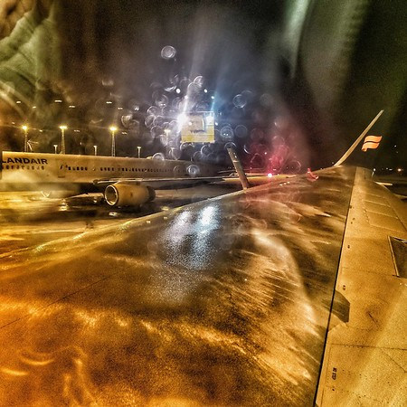 Deicing in Iceland!