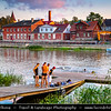 Europe - Estonia - Tartu - University town on Emajõgi river - Intellectual & cultural hub of the country - Relaxing atmosphere on river banks during long summer evening