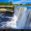 Europe - Estonia - Harju County - Jõelähtme Parish - Laheema National Park - Jägala Waterfall - Jägala juga - Niagara of Estonia - Niagara Falls of the Baltics - Wonderful waterfall in Northern Estonia on Jägala River - Highest natural waterfall in Estonia with height about 8 meters