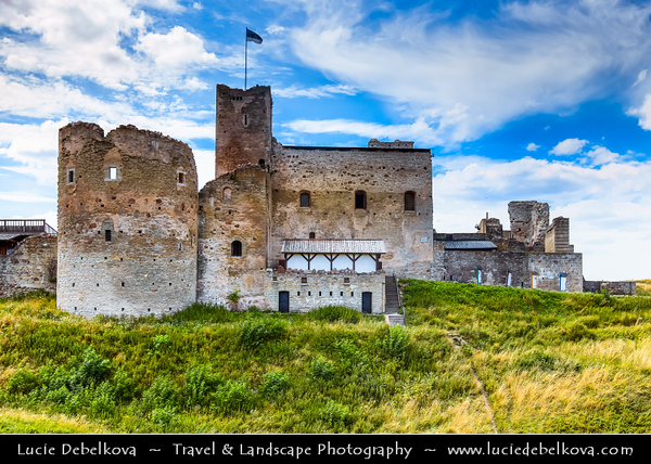 Europe - Estonia - Rakvere - Estonia's fifth largest city situated in north, 20 km south of the Gulf of Finland - Rakvere Order Castle - Completed in the first half of the 16th century