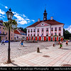 Europe - Estonia - Tartu County - Tartu - University town on Ema