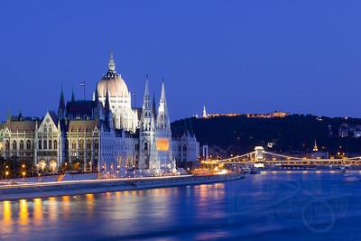 Parliament Building. Budapest, Hungary