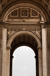 arc de triumphe. paris.