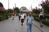 Toward Hagia Sophia mosque