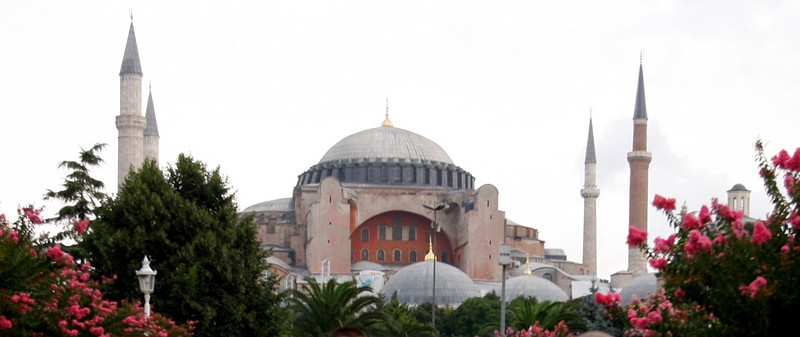 Hagia Sophia, the largest structure on earth for more than a millenia