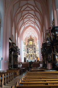 Basilica St Michael, Mondsee, where the Sound of Music wedding scene was filmed.  There's been a church here since 976.