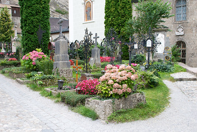 the beautiful cemetary by st. peters, inspiration for the escape scene from the sound of music