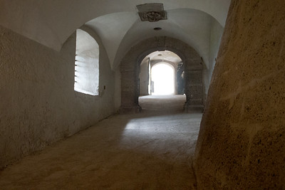 one of the passageways out of the fortress
