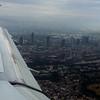 landing in Frankfurt, Germany