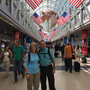 David and Candy at Chicago O'Hare
