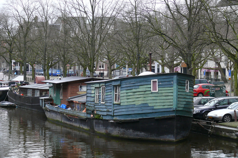 Amsterdam canal & house boat