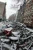Amsterdam - a rare snowfall