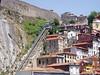 The funicular in the Ribiera, Porto