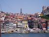 Ribeira area, Porto, by the river