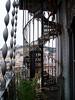 Gorgeous iron staircase, Elevador, Lisbon