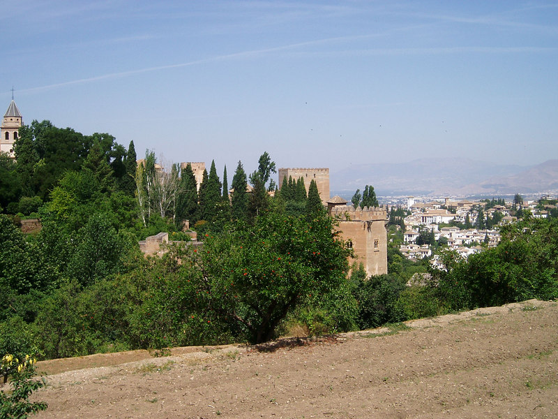 Views around the Alhambra, Granada