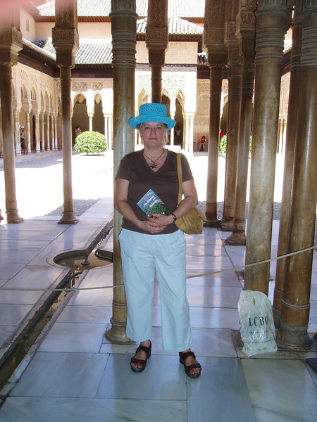 Me, Inside the Alhambra