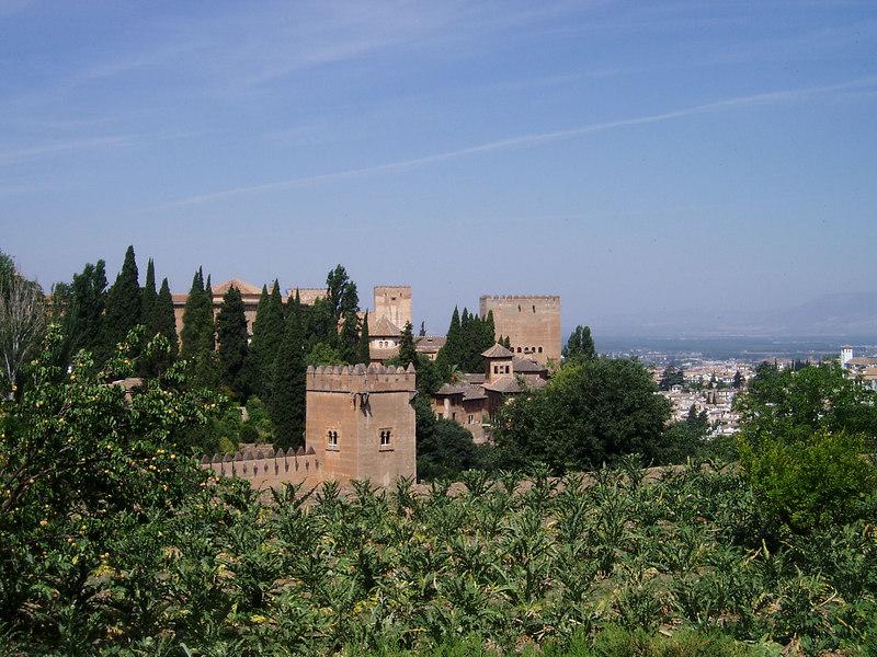 Views around the Alhambra, Granada