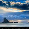 Europe - Faroe Islands - Faroes - Føroyar - Færøerne - Island group & archipelago under the sovereignty of the Kingdom of Denmark situated between the Norwegian Sea and the North Atlantic Ocean - Vágar Island - Sorvagsfjorour - Sørvágsfjørður